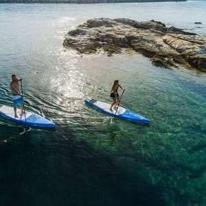 Aquamarina Hyper SUP Stand Up Paddle con guinzaglio, Zaino e Pompa