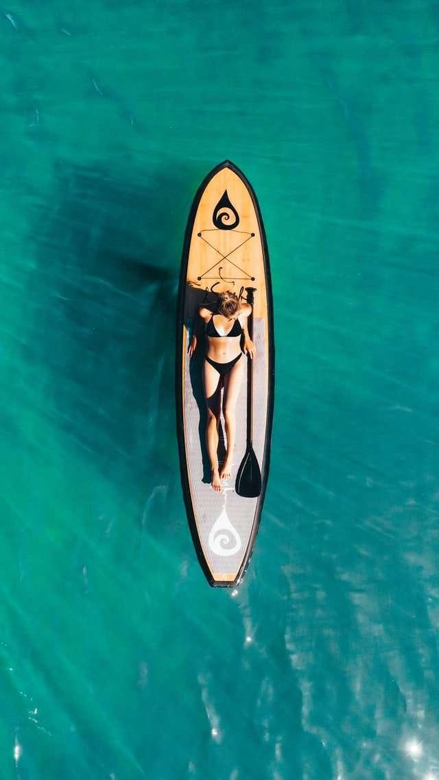 stand up paddle da donna