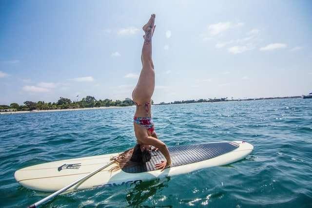 yoga sul paddlesurf